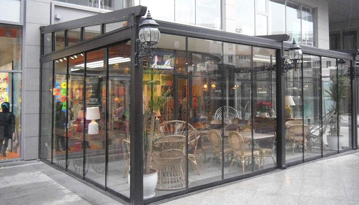 Vitrin Cam Kapı Sistemler